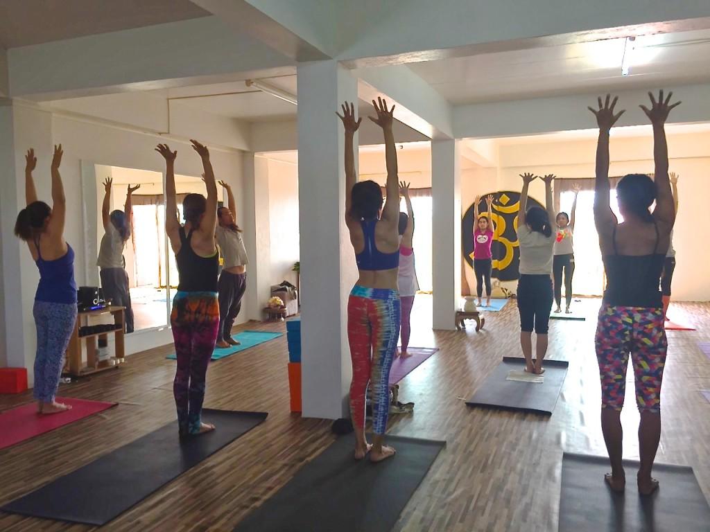 yoga chiangmai, thai yoga chiangmai