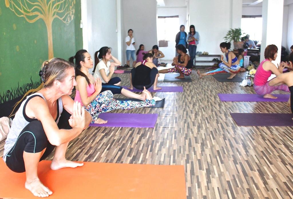 yoga school chiangmai,chiangmai yoga